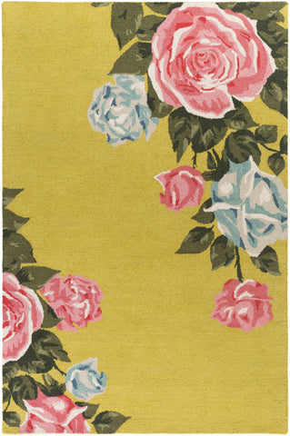 Artistic Weavers Botany Cora Yellow Multi Area Rug main image