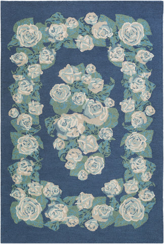 Artistic Weavers Botany Gianna Denim Blue Multi Area Rug main image