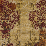 Surya Brocade BRC-1002 Beige Hand Knotted Area Rug Sample Swatch