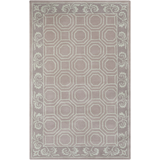Surya Bordeaux BRD-6002 Light Gray Area Rug by Florence de Dampierre 5' x 8'
