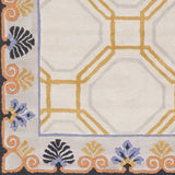 Surya Bordeaux BRD-6008 Taupe Hand Tufted Area Rug by Florence de Dampierre Sample Swatch