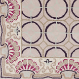 Surya Bordeaux BRD-6019 Eggplant Hand Tufted Area Rug by Florence de Dampierre Sample Swatch