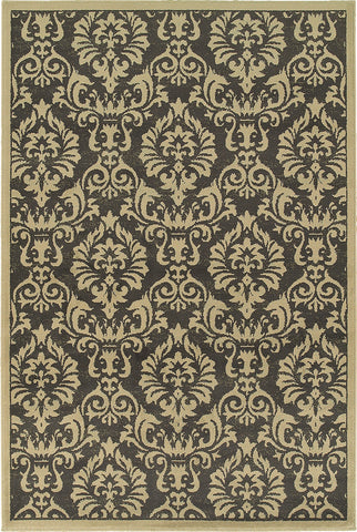 Oriental Weavers Brentwood 530K9 Charcoal/Ivory Area Rug main image