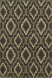 Oriental Weavers Brentwood 5501D Charcoal/Grey Area Rug 6' 7 X 9' 3
