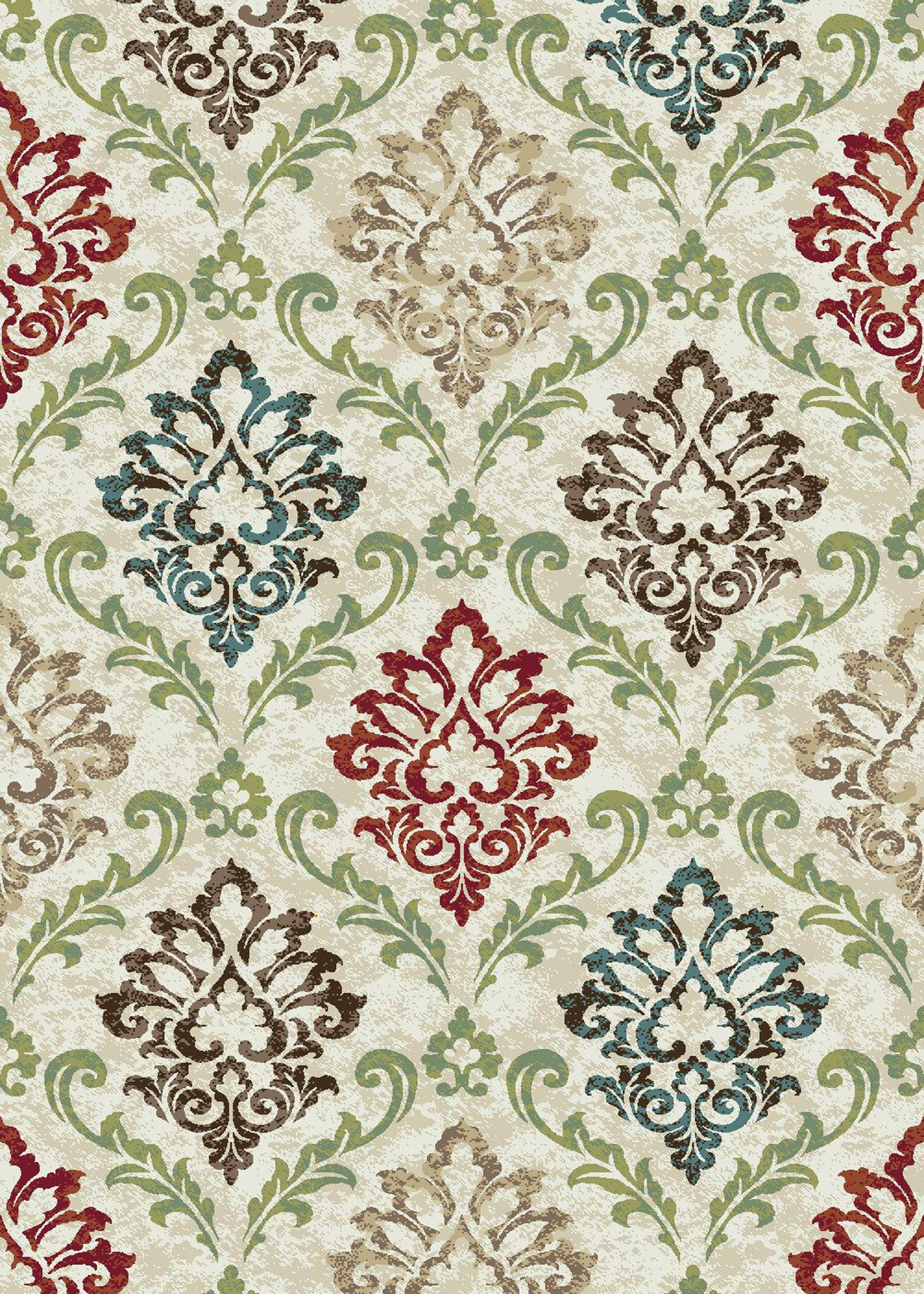 Mayberry Brighton BRG1011 Cream Area Rug