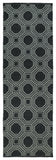 Kaleen Brisa BRI06-02 Black/Grey Area Rug Runner Shot