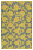 Kaleen Brisa BRI06-28 Grey/Yellow Area Rug