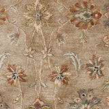 Surya Brilliance BRL-2000 Light Gray Hand Tufted Area Rug Sample Swatch