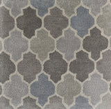 Surya Brilliance BRL-2016 Medium Gray Area Rug Sample Swatch