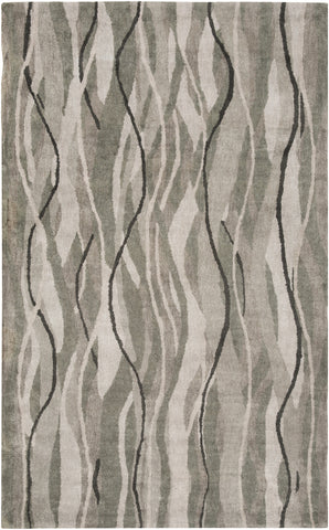 Surya Brilliance BRL-2020 Silver Gray Area Rug main image