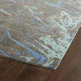 Kaleen Brushstrokes BRS01-40 Chocolate Hand Tufted Area Rug