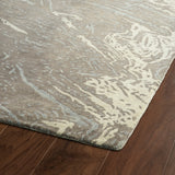 Kaleen Brushstrokes BRS01-49 Brown Area Rug Close-up Shot