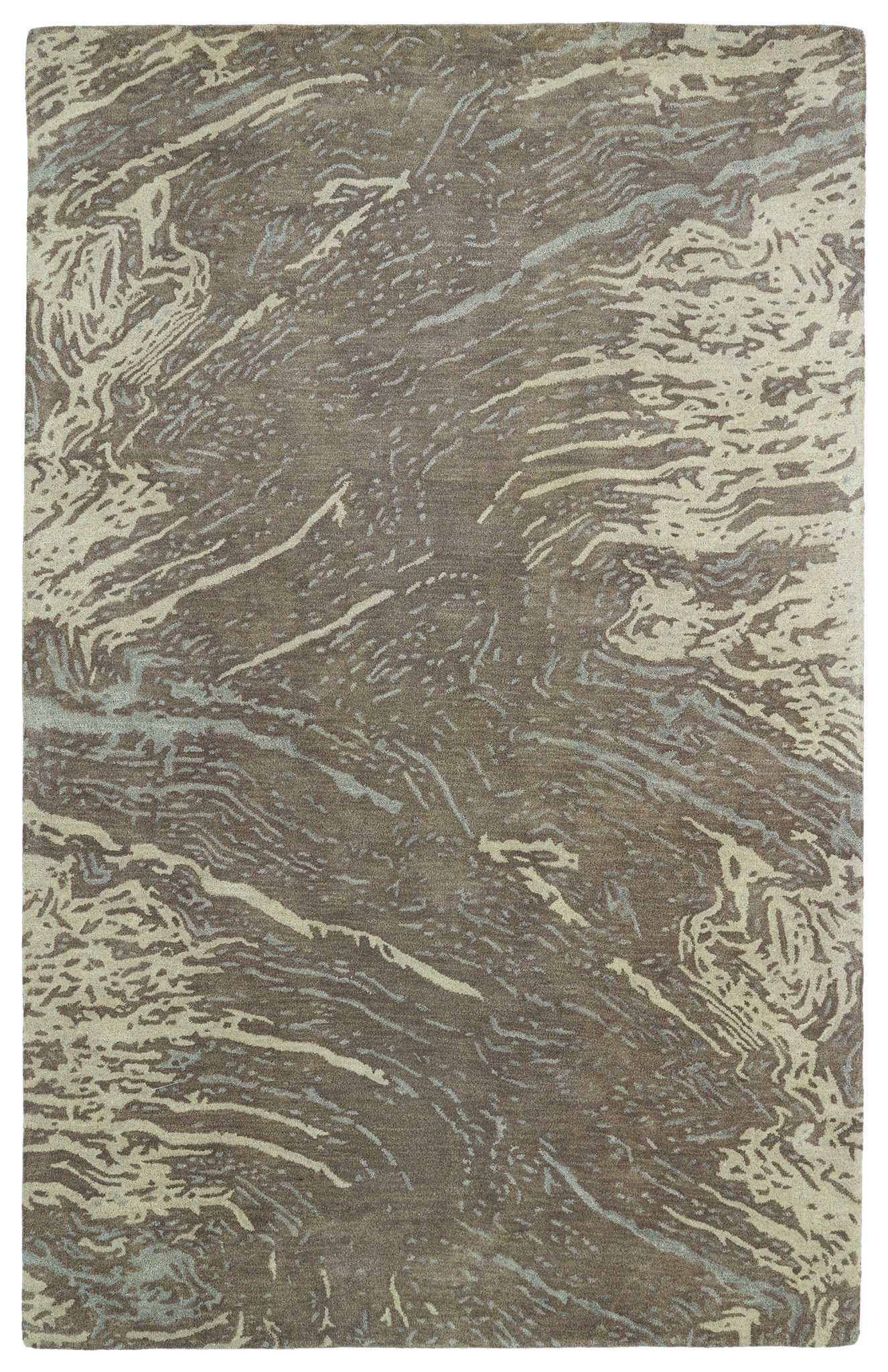 Kaleen Brushstrokes BRS01-49 Brown Area Rug main image