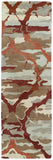 Kaleen Brushstrokes BRS02-25 Red Hand Tufted Area Rug