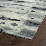 Kaleen Brushstrokes BRS03-75 Grey Hand Tufted Area Rug