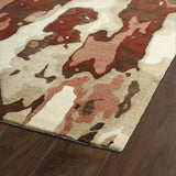 Kaleen Brushstrokes BRS05-30 Rust Hand Tufted Area Rug
