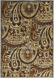 Surya Basilica BSL-7198 Chocolate Machine Loomed Area Rug