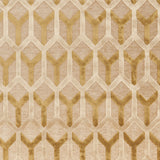 Surya Basilica BSL-7205 Gold Machine Loomed Area Rug Sample Swatch