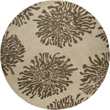 Surya Bombay BST-493 Chocolate Area Rug 8' Round