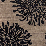 Surya Bombay BST-496 Charcoal Hand Tufted Area Rug Sample Swatch