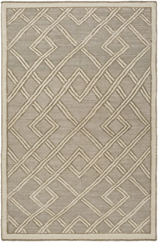 Surya Brighton BTN-4001 Light Gray Area Rug by Beth Lacefield main image