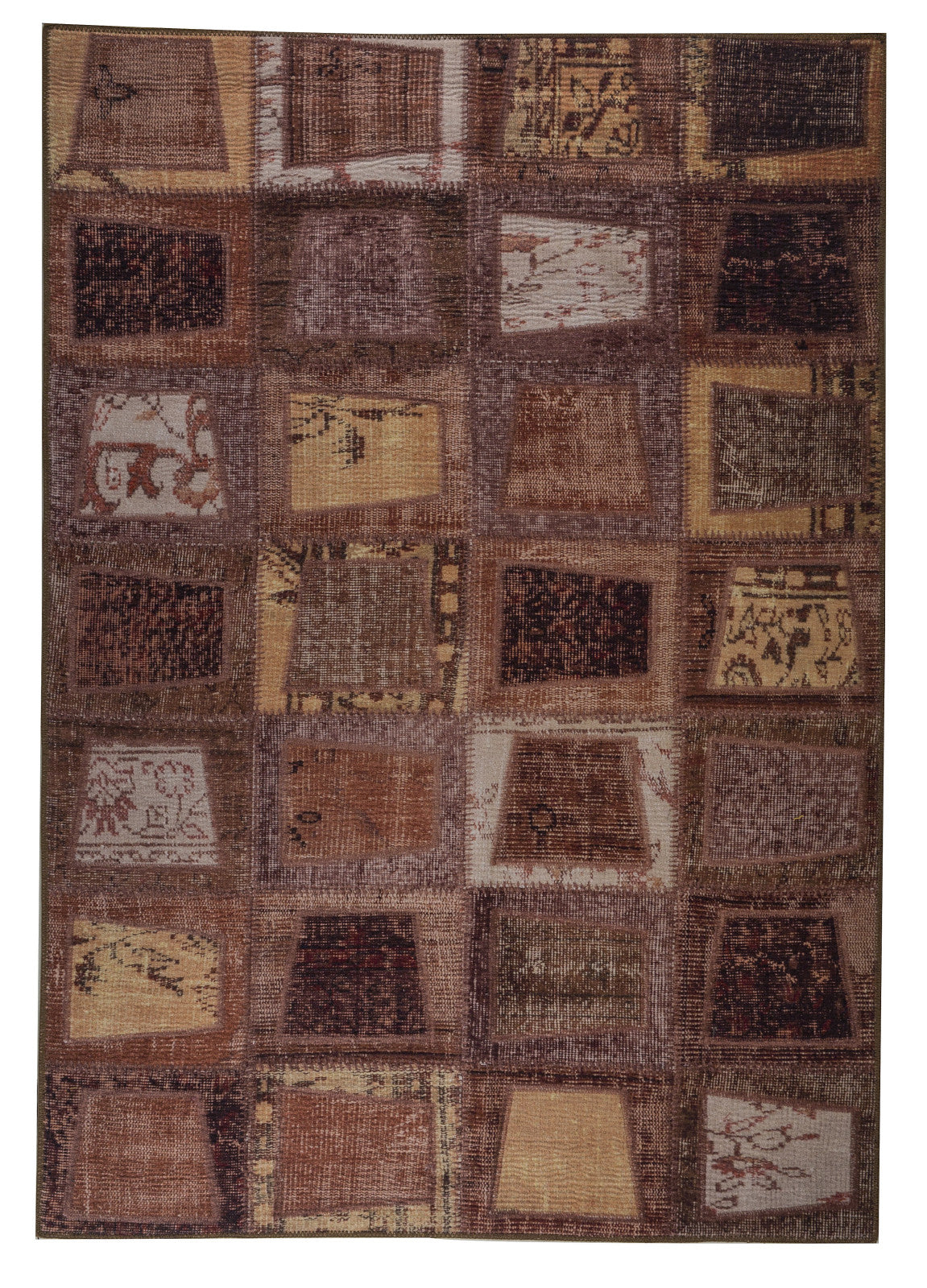 MAT Vintage Bursa Brown Area Rug main image