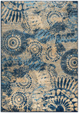 Rizzy Bellevue BV3423 Blue Area Rug