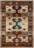 Rizzy Bellevue BV3705 Tan/Ivory/Brown Area Rug