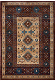 Rizzy Bellevue BV3709 Tan/Ivory/Brown Area Rug