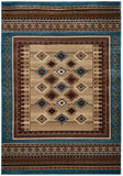 Rizzy Bellevue BV3712 Tan/Ivory/Brown Area Rug