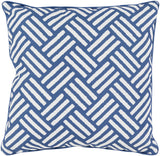 Surya Basketweave BW001 Pillow 16 X 16 X 4 Poly filled