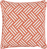 Surya Basketweave BW004 Pillow 20 X 20 X 5 Poly filled