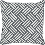 Surya Basketweave BW007 Pillow 20 X 20 X 5 Poly filled