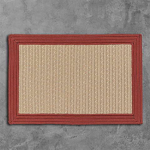 Colonial Mills Bayswater BY73 Brick Area Rug main image
