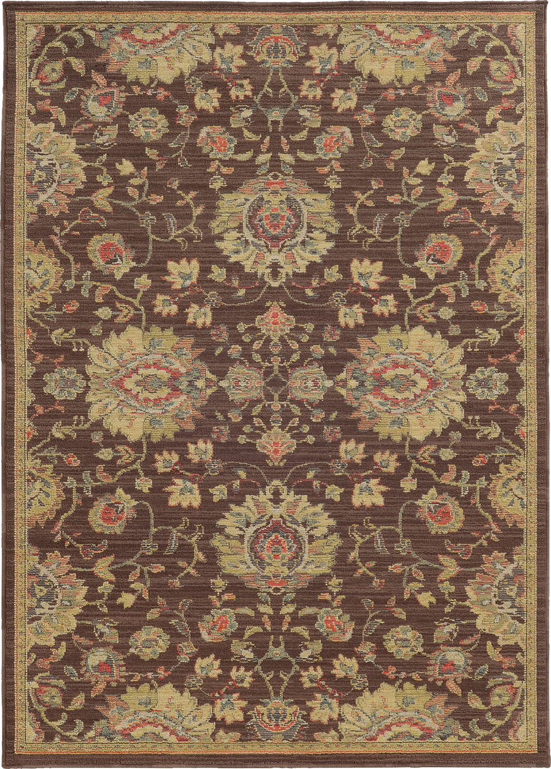 Tommy Bahama Cabana 002N2 Brown Area Rug main image