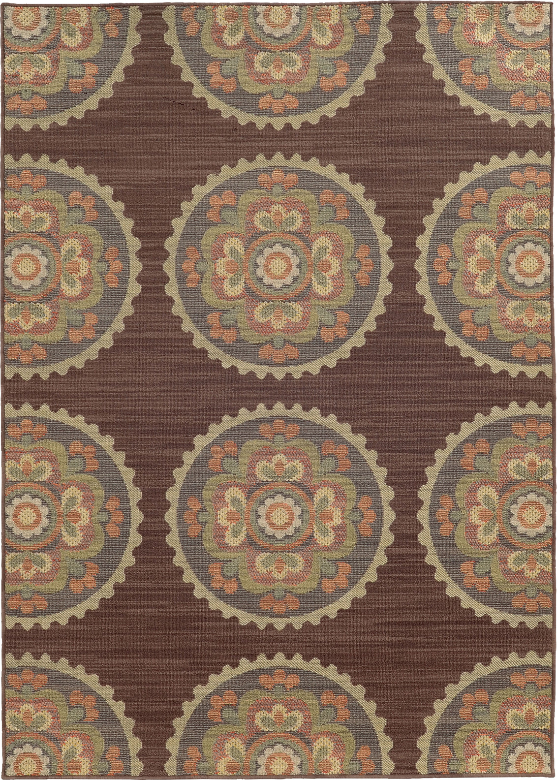 Tommy Bahama Cabana 501M2 Brown Area Rug main image