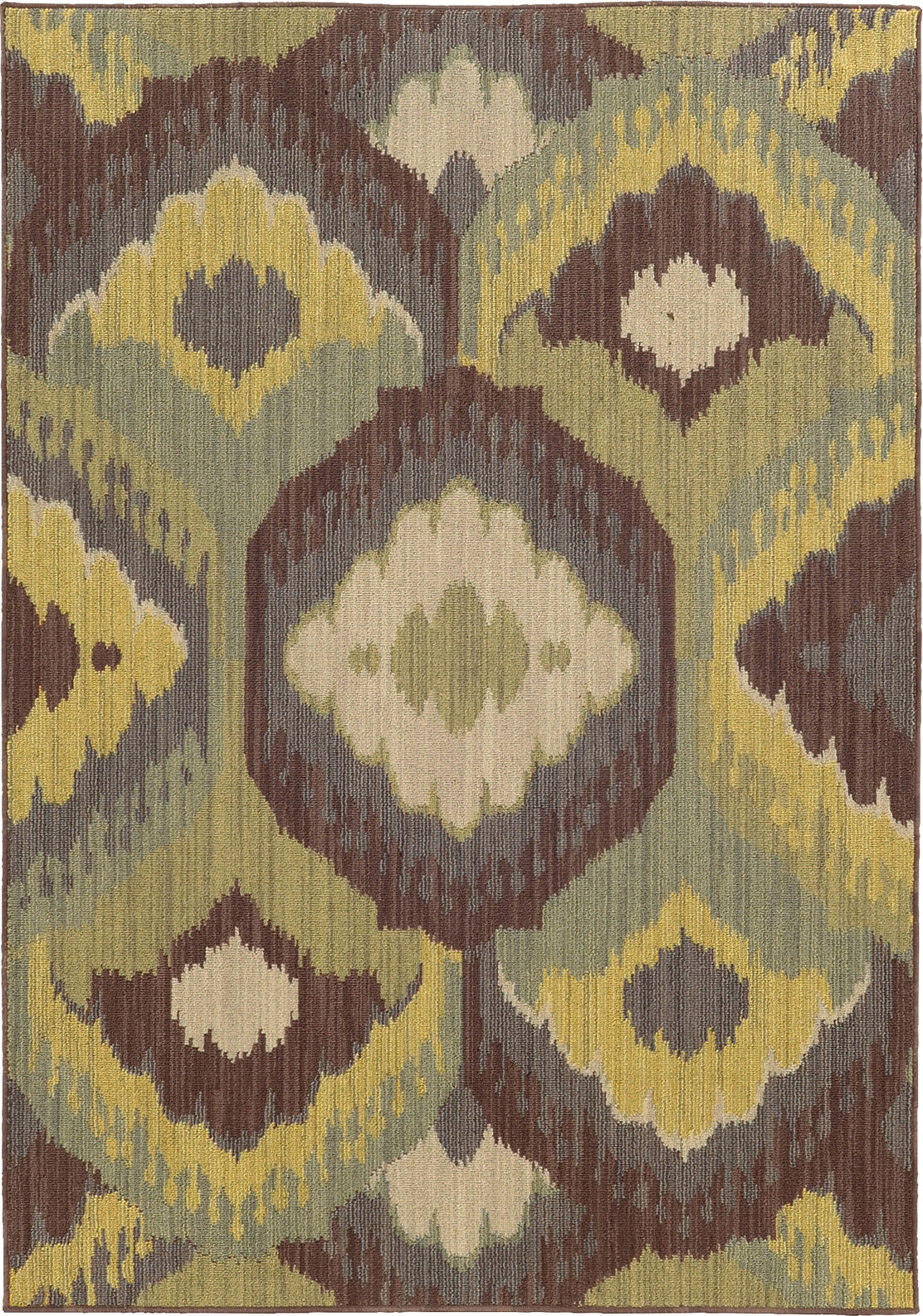 Tommy Bahama Cabana 929N2 Brown Area Rug main image