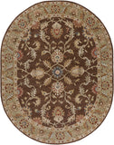 Surya Caesar CAE-1009 Chocolate Area Rug 8' x 10' Oval