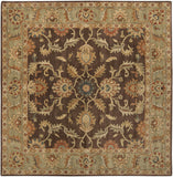Surya Caesar CAE-1009 Chocolate Area Rug 8' Square
