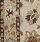 Surya Caesar CAE-1010 Ivory Hand Tufted Area Rug 16'' Sample Swatch