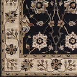 Surya Caesar CAE-1033 Charcoal Hand Tufted Area Rug Sample Swatch