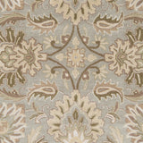 Surya Caesar CAE-1111 Grey Hand Tufted Area Rug Sample Swatch