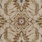 Surya Caesar CAE-1118 Beige Hand Tufted Area Rug Sample Swatch