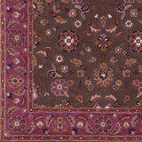 Surya Caesar CAE-1141 Eggplant Hand Tufted Area Rug Sample Swatch