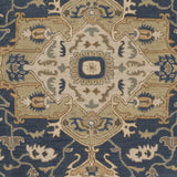 Surya Caesar CAE-1145 Navy Hand Tufted Area Rug Sample Swatch