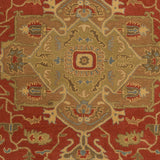 Surya Caesar CAE-1147 Rust Hand Tufted Area Rug Sample Swatch