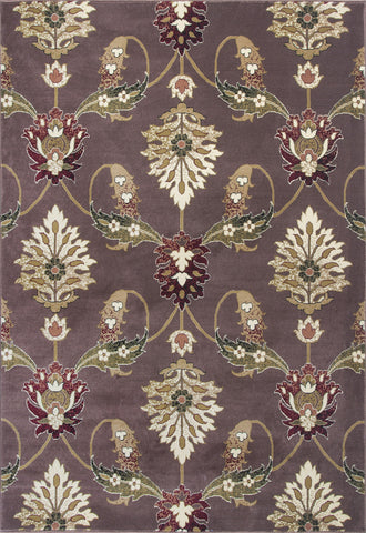 KAS Cambridge 7363 Plum Palazzo Machine Woven Area Rug