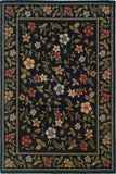 Oriental Weavers Camden 1196D Black/Green Area Rug 5' 0 X 7' 3