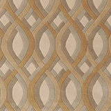 Surya Modern Classics CAN-1901 Beige Hand Tufted Area Rug by Candice Olson Sample Swatch