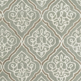 Surya Modern Classics CAN-1907 Grey Hand Tufted Area Rug by Candice Olson Sample Swatch